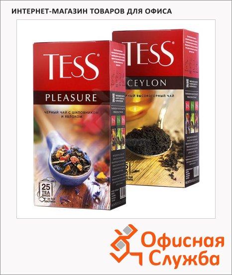 Чай Tess, черный, 25 пакетиков
