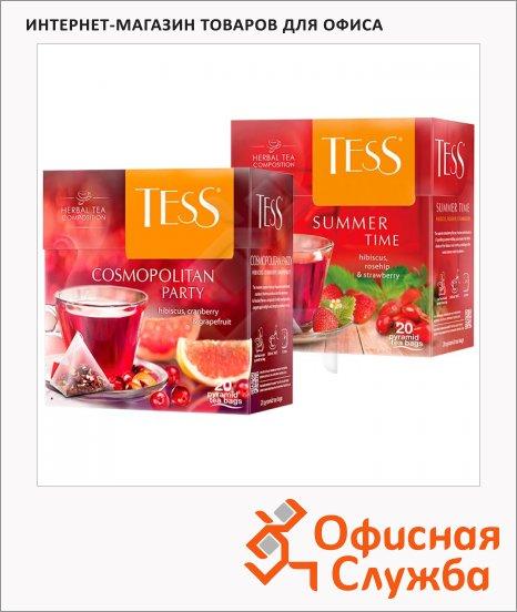 Чай Tess, в пирамидках, 20 пакетиков