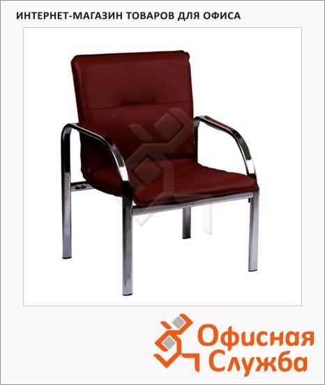 Кресло посетителя Nowy Styl Staff иск. кожа, на ножках, хром