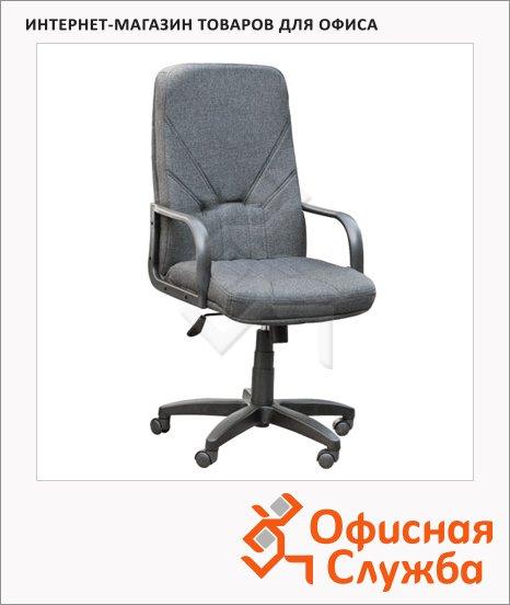 Кресло руководителя Nowy Styl Менеджер нат. кожа, крестовина пластик