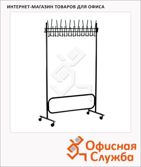 Вешалка-стойка напольная Титан СК (СКР), 22 крючка, 1800мм
