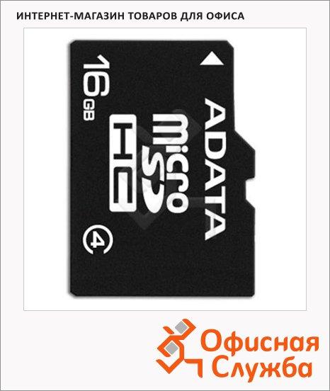 Карта памяти A-Data micro SDHC, 4мб/с, без адаптера SD