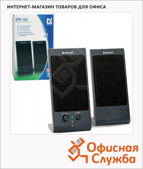 Колонки компьютерные Defender SPK-165/170, 2х2Вт, черные, 2.0