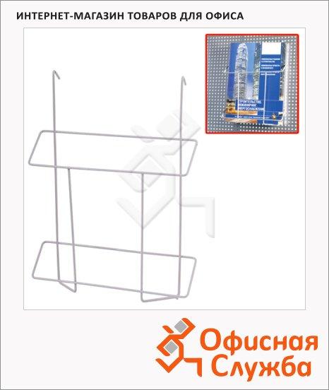 Подставка навесная А4, 30 см, хром