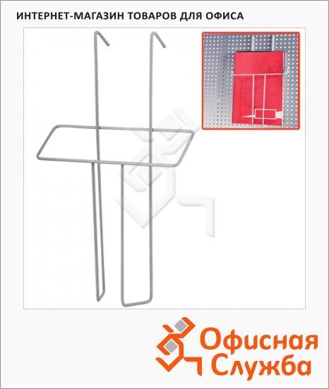 Подставка навесная А5, 26 см, хром