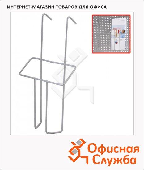Подставка навесная А6, 22 см, хром