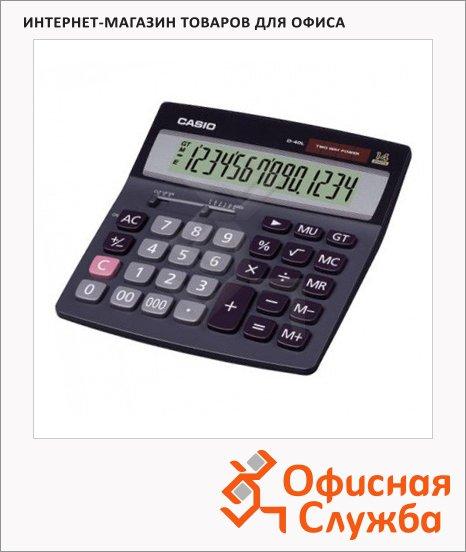 Калькулятор настольный Casio D40L