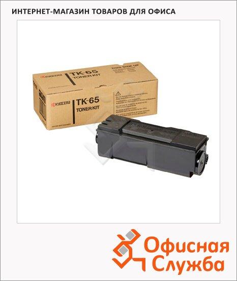 фото: Тонер-картридж Kyocera Mita TK-65 черный