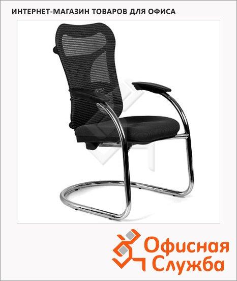 Кресло посетителя Chairman 426 ткань, TW, на полозьях