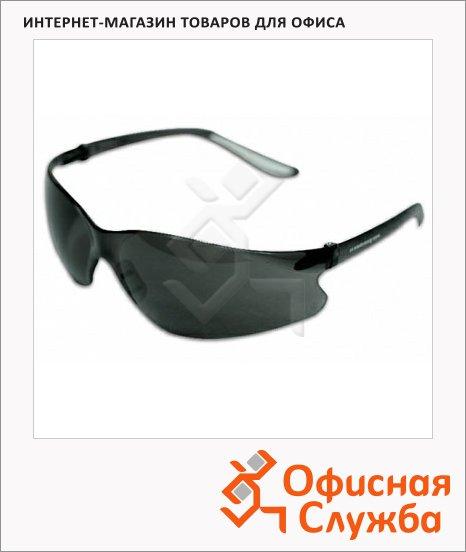 фото: Очки защитные Ампаро Палермо дымчатые открытые, 211307