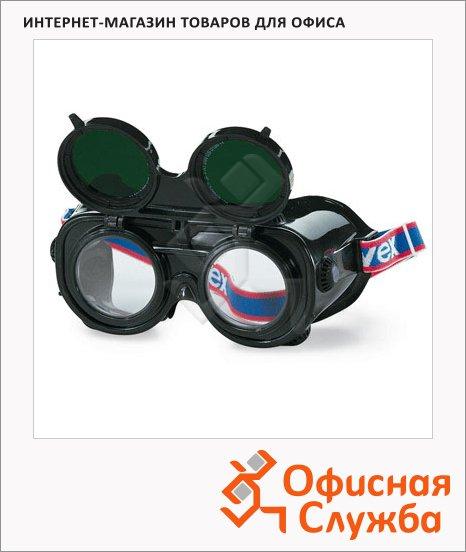 Очки защитные сварочные Uvex Амиго зеленые, закрытые, 9350.035