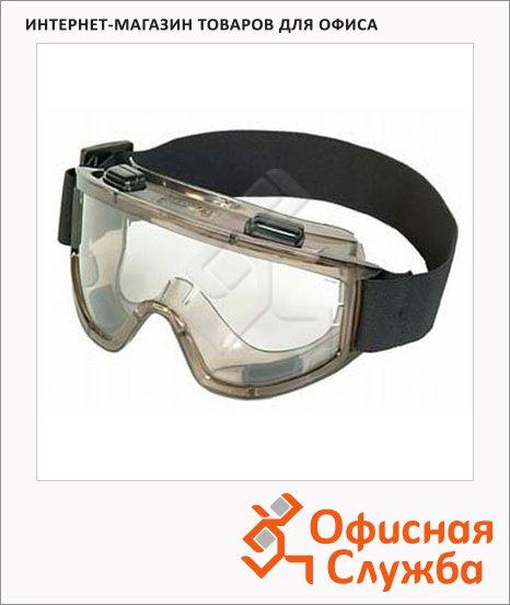 Очки защитные Премиум прозрачные, герметичные, 223408