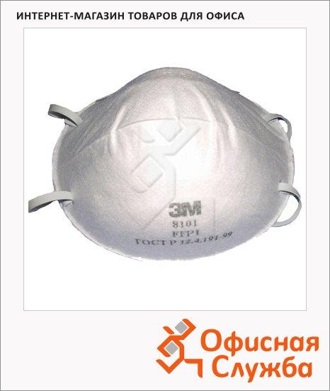 Респиратор 3m Эконом FFP1, 4ПДК, 8101-1