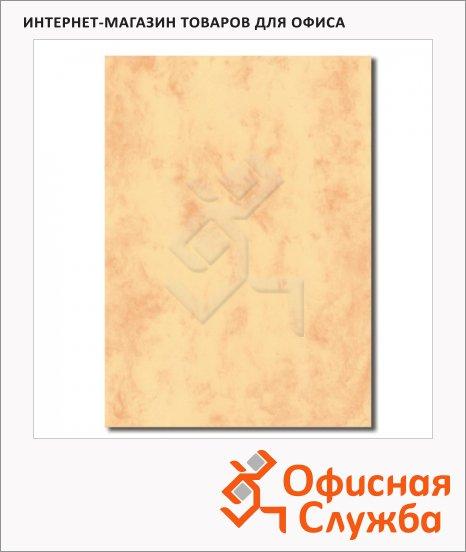 Дизайн-бумага Decadry Corporate Line Мрамор золотой с текстурой, А4, 95г/м2