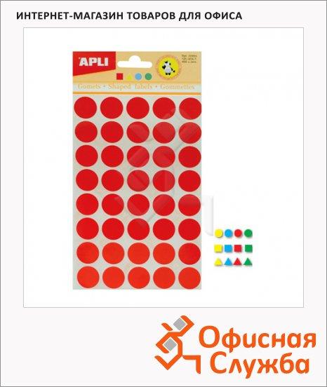 фото: Этикетки геометрические фигуры Apli 468шт