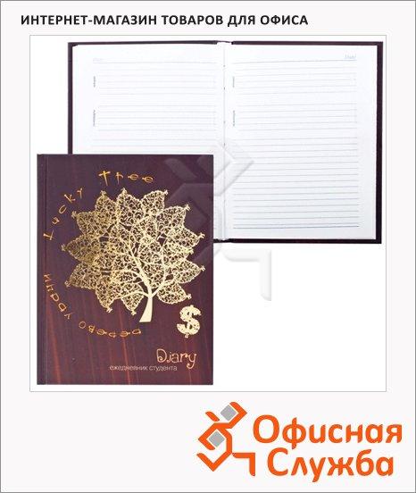 Ежедневник студента недатированный Plano рисунок, А5, 144 листа