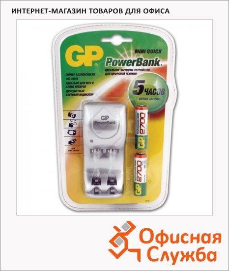 Зарядное устройство для аккумуляторов Gp РВ25GS270 для 2 акк. АА/ААА, 2 аккум АА2700mAh