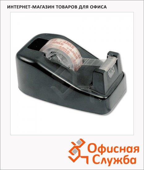 Диспенсер для клейкой ленты Brauberg до 19мм, черный