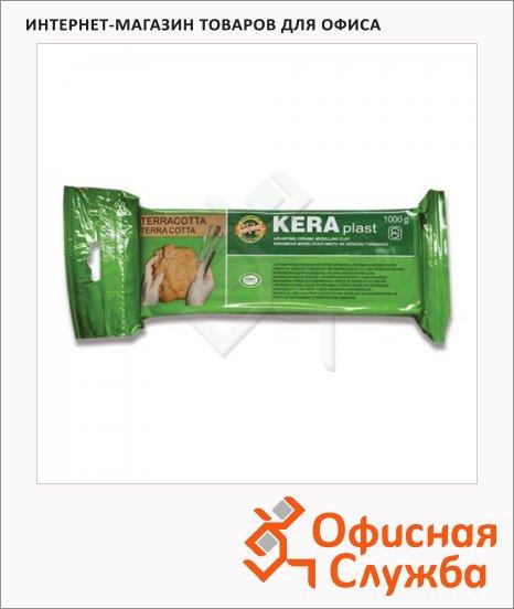 Керамическая масса для лепки Koh-I-Noor Keraplast 1кг, терракотовая, 131707