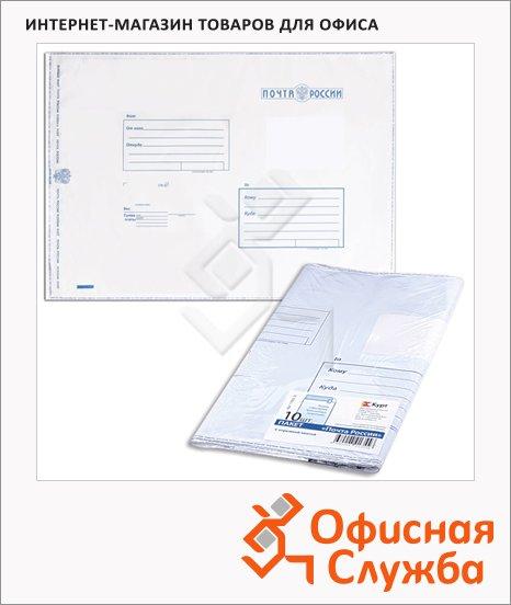Пакет почтовый полиэтиленовый Курт белый, 280х380мм, 100мкм, 10 шт, стрип, Куда-Кому