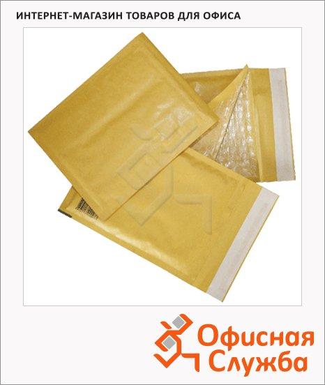 Пакет почтовый с воздушной подушкой Курт крафт, 150х210мм, 80г/м2, 10шт, стрип