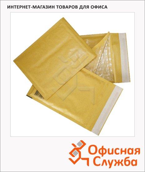 Пакет почтовый с воздушной подушкой Курт крафт, 240х330мм, 100г/м2, 10шт, стрип