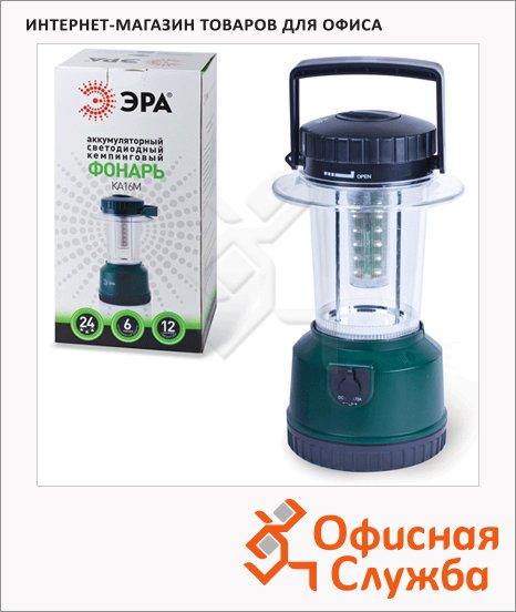 Фонарь светодиодный Эра KA16M аккумуляторный, 24 белых LED светодиода