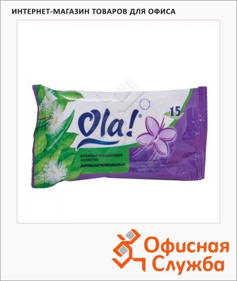 Салфетки влажные Ola Silk Sense