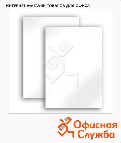 фото: Картон белый Brauberg 100 листов А3, немелованный