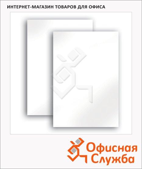 Картон белый Brauberg 100 листов, А4, немелованный