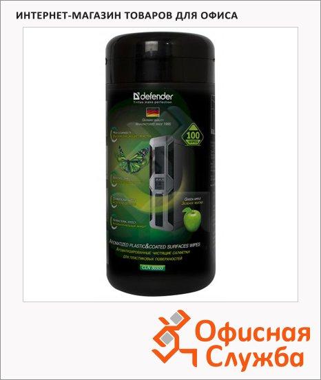 фото: Салфетки чистящие универсальные Defender Cln30333 100 шт/уп в тубе