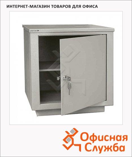 Шкаф металлический для документов Надежда ШМС-1 для документов, сварной, 490х464х409мм