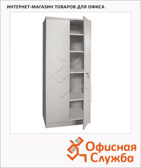 Шкаф металлический для документов Надежда ШМС-4 для документов, разборный, 1850х756х452мм