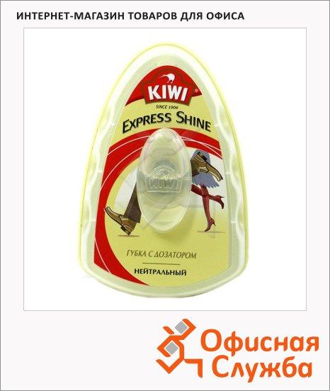 Губка для обуви с дозатором Kiwi Express Shine для гладкой кожи