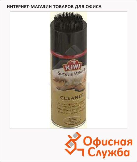фото: Очиститель для обуви Kiwi для замши и нубука спрей, бесцветный, 200мл