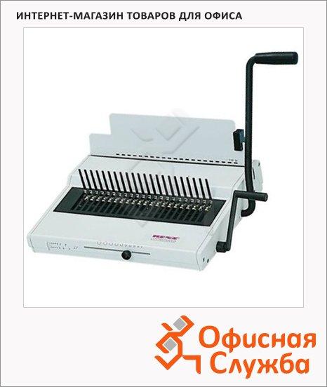 Брошюровщик гребеночный Renz Combinette на 25 листов, переплет до 450 листов, пластиковая пружина