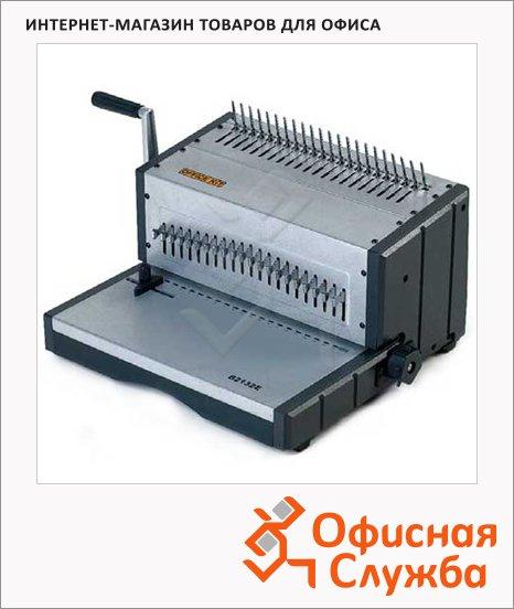 Брошюровщик электрический Office Kit B2132E, на 32 листа, переплет до 500 листов, пластиковая пружина