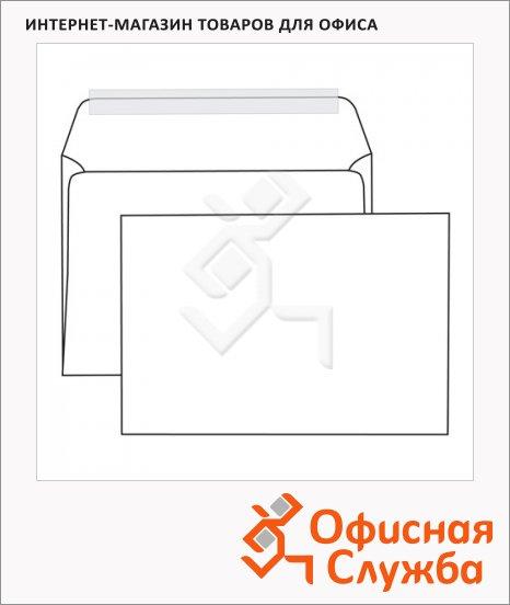 Конверт почтовый Родион Принт С5 белый, 162х229мм, 80г/м2, стрип