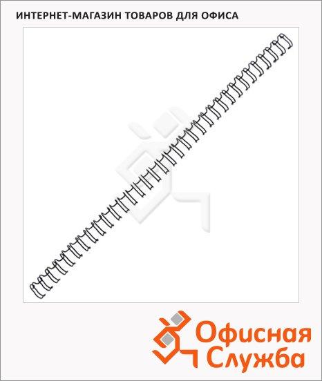 фото: Пружины для переплета металлические Profioffice серебристые на 100-140 листов, 16мм, 50шт, 71927