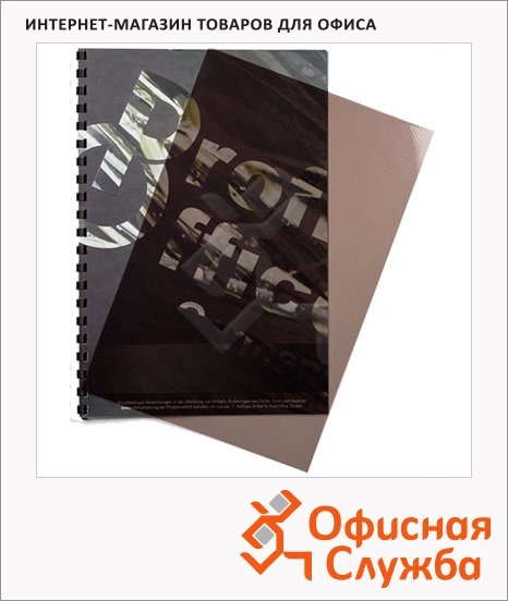 Обложки для переплета пластиковые Profioffice, А4, 200 мкм, 100шт