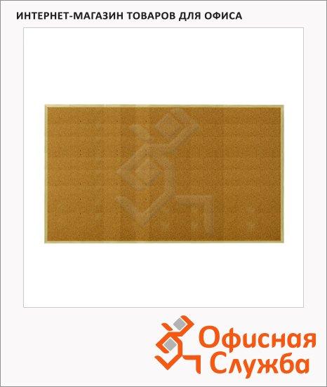 фото: Доска пробковая Esselte 500972 100х60см коричневая, деревянная рама