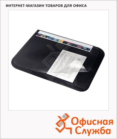 Коврик настольный для письма Leitz 65смх50см, черное, 53120095