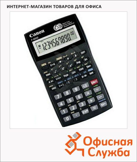 Калькулятор инженерный Canon F 502 черный, 10разрядов
