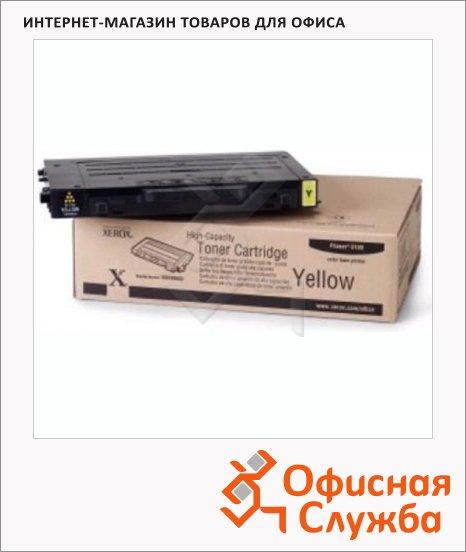 фото: Тонер-картридж Xerox 106R00678 желтый