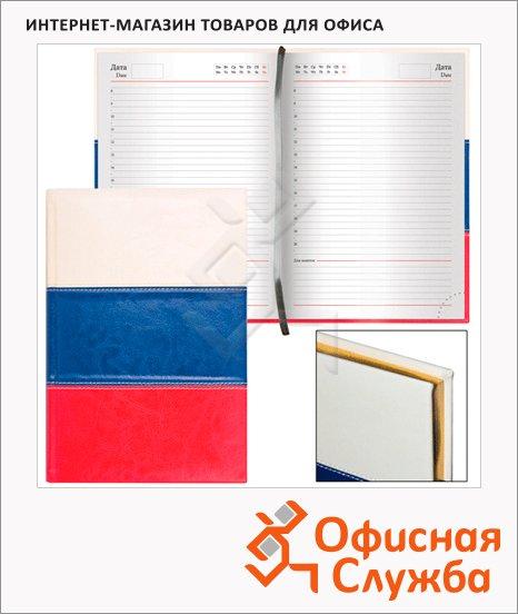 Ежедневник недатированный Brauberg Flag