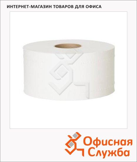 Туалетная бумага Lime mini в рулоне, светло-серая, 200м, 1 слой, 10.200