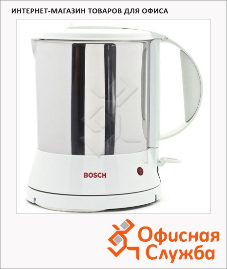 Чайник электрический Bosch TWK1201N нержавеющая сталь, 1.7 л, 2200 Вт