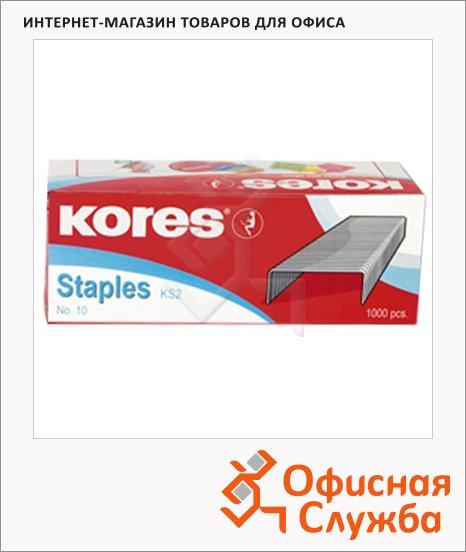 Скобы для степлера Kores №10, 1000шт
