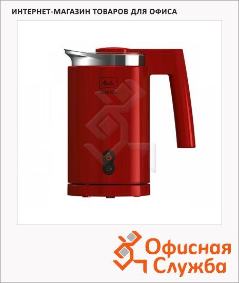 фото: Автоматический вспениватель молока Cremio 600 Вт, красный