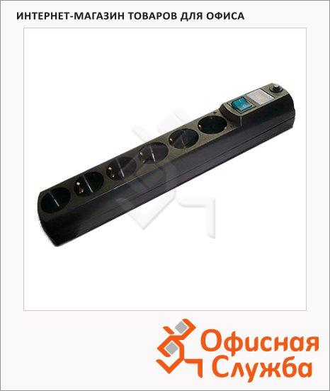 Сетевой фильтр Most HV6 6 розеток, черный